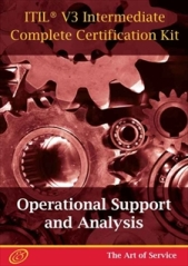 ITIL V3 Operational Support and Analysis (OSA) Full Certification Online Learning and Study Book Cours 1111661 screenshot