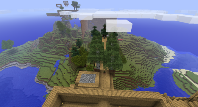 Minecraft screenshots treehouse ideas Minecraft 1.2.5 İndir Download Gezginler