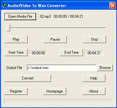 Converter & Ripper for DVD MP4 MP3 MPEG.
