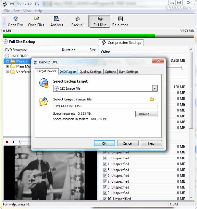 Категория программы. Скачать программу DVD Shrink 3.2 бесплатно. Просмотр